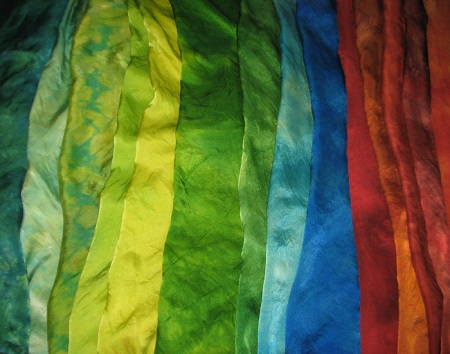 Dyed Charmeuse