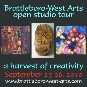 Brattleboro West Arts Open Studio Tour