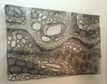 Undercurrent; Aluminum screen, steel wire   6 ft x 8 ft 6 in x 7 in
