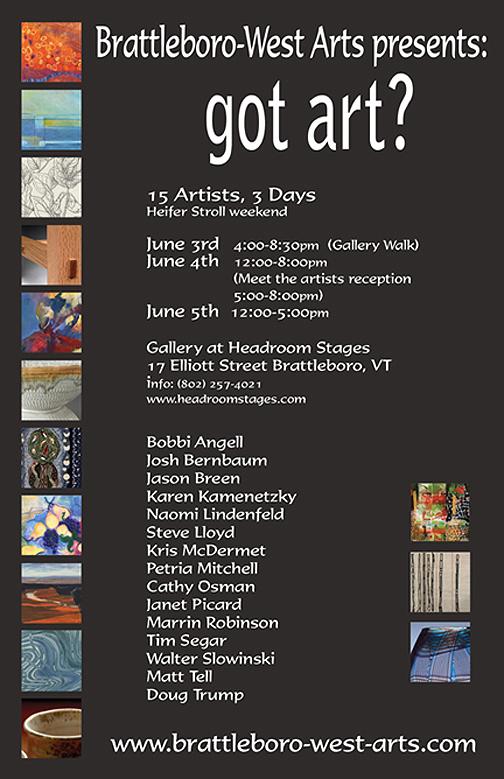 got art?  15 Artists-3 Days