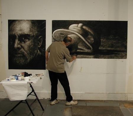 Leonard Ragouzeos creating