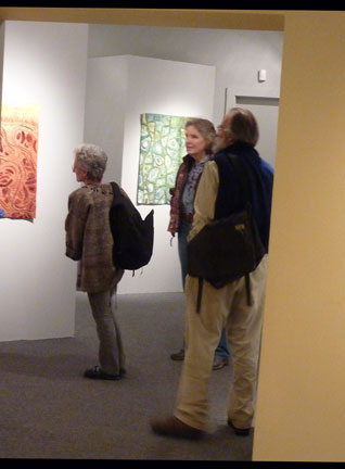 Viewing the exhibit