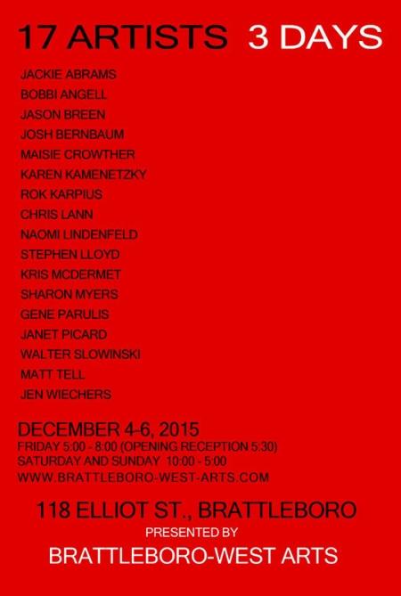17 Artists-3 Days